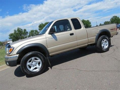 2001 Toyota Tacoma Fuel Economy Find Used 2001 Toyota Tacoma Xtracab Extended Cab Trd Sr5