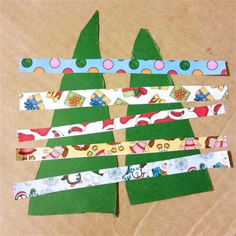 washi tape christmas craft crafts for washi trees kate hadfield designs