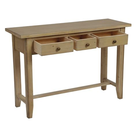 Console 3 Tiroirs by Console 3 Tiroirs Naturel Interior S