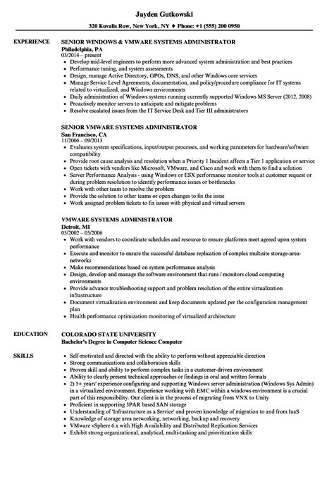 Iseries Administrator Cover Letter by Blackboard Administrator Sle Resume What To Put On A Resume Cover Letter