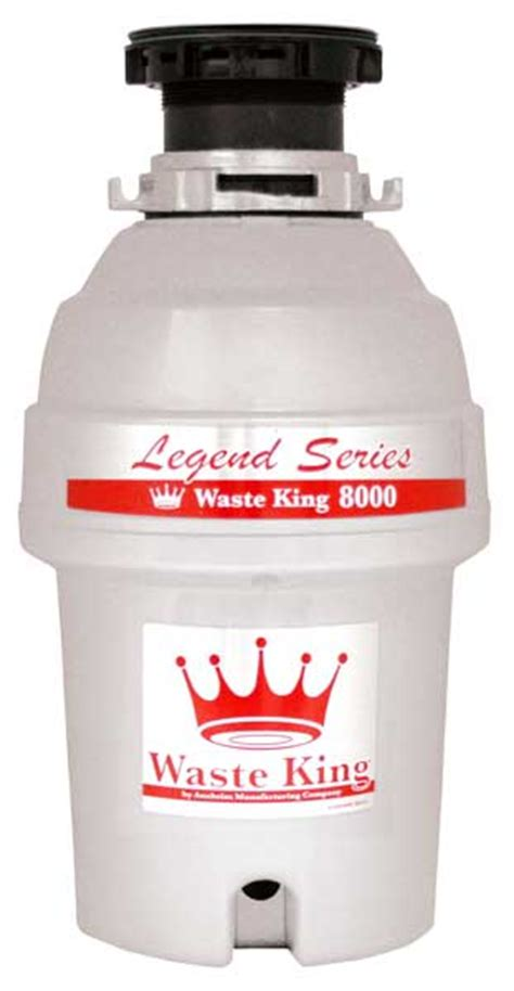 L Disposal by Waste King L 8000 Legend Series 1 0 Horsepower Continuous