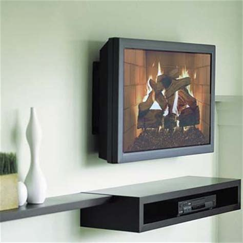Wall Mounted Tv With Shelf Underneath by 17 Best Images About Tv Wall Mount On Shelves