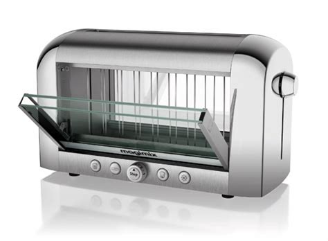 Magimix Toaster See Through Vision Toaster From Magimix Design Milk