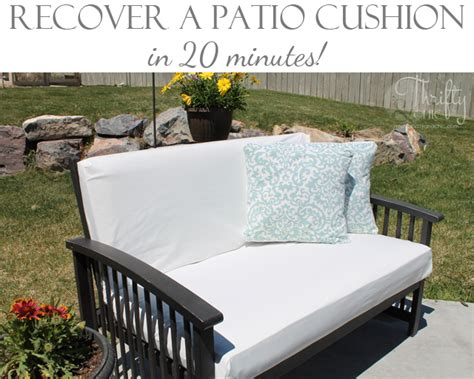 recovering patio cushions thrifty and chic diy projects and home decor