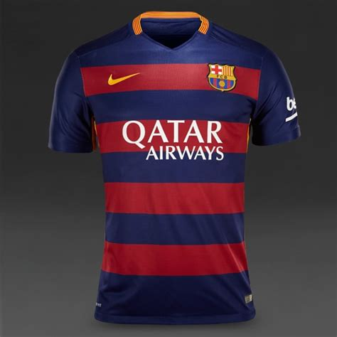 Jersey Liga Eropa Barcelona Dryfit soccer jerseys nike fc barcelona 15 16 ss home match jersey replica apparel loyal blue
