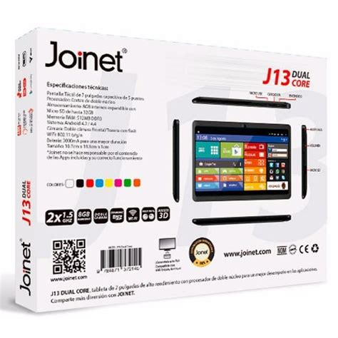 tablet with 8gb ram tablet pc joinet j13 dual 8gb 4 4 android 1gb ram