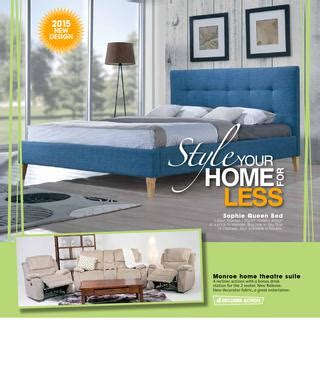 betta home living furniture catalogue july 2015 by echo