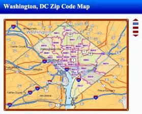 Zip Code Map Dc by Washington Dc Zip Code Map Images
