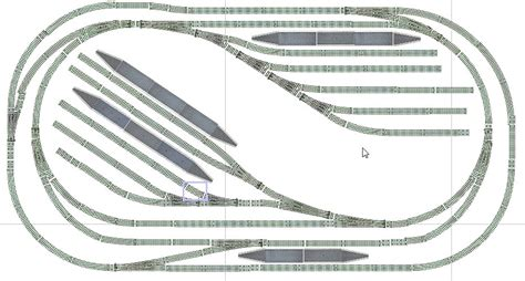 hornby track layout design software rael dale valley railway building modelling signalling