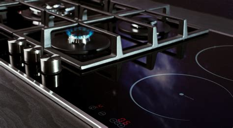 piano cottura misto gas induzione gas and induction cooking hobs look at centauri range