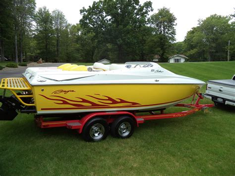 yellow baja baja 23 outlaw 2006 for sale for 33 500 boats from usa com