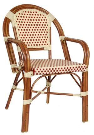 aluminum bamboo patio chairs aluminum bamboo arm outdoor patio chair