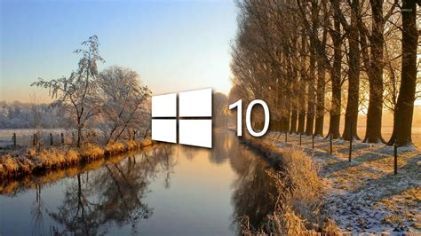 winter wallpaper for windows 10 windows 10 on the frosty river 3 wallpaper computer