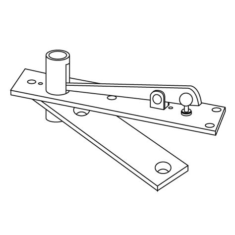 rixson 340 center hung door top pivot epivots com