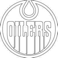 Edmonton Oilers Logo Outline by Edmonton Oilers Logo Outline Vector By Broken Bison Patterns For Graphs Coloring
