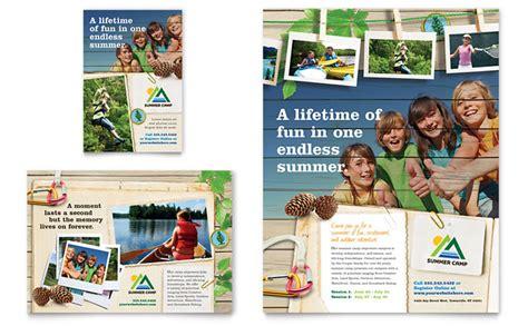 Kids Summer C Flyer Ad Template Design Summer C Brochure Template Free