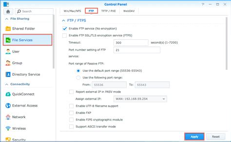 nas protocol diskstation manager knowledge base synology inc