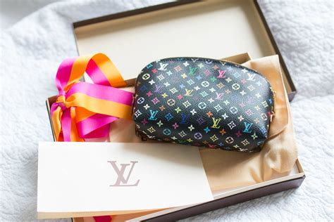 Branded Mug Lv Multicolor louis vuitton multicolor noir cosmetic pouch pm brand new heyyyjune