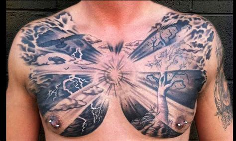 whole chest tattoo designs chest cloud design 2 design of tattoosdesign of