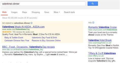 valentines menu leeds valentines day e commerce gaps fails things to fix
