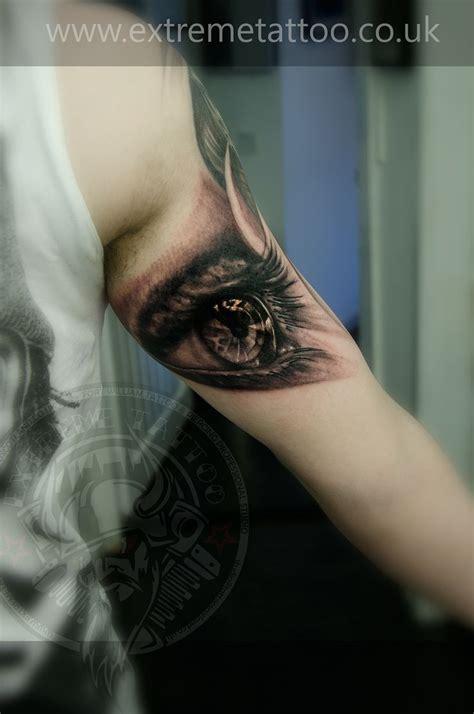 extreme eye tattoo eye tattoo sleeve in progress gabi tomescu extreme tattoo