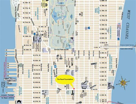 subway map of manhattan with streets map of streets in nyc world maps
