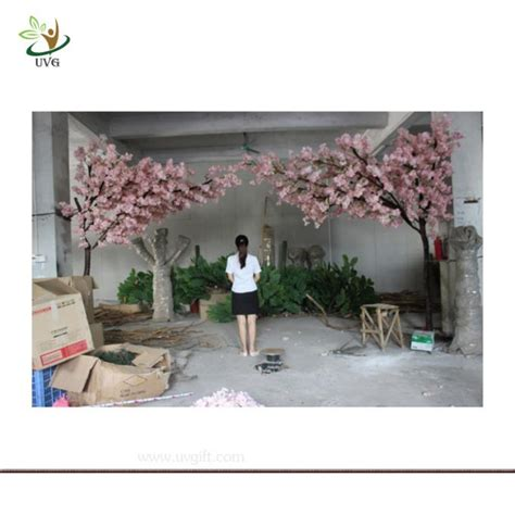 cherry tree events solutions p ltd uvg chr114 4m indoor silk japanese cherry blossom tree with artificial fiberglass trunk