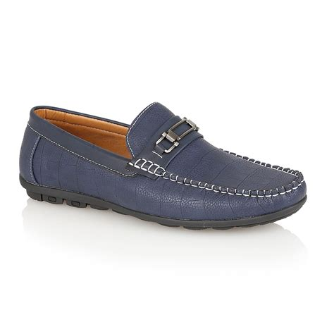 designer loafers mens designer leather look italian loafers casual moccasin