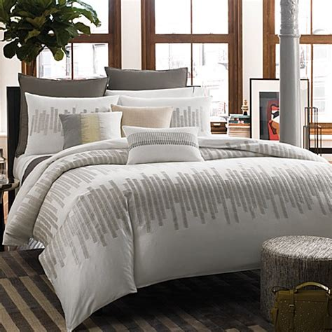 kenneth cole bedding kenneth cole reaction home frost duvet cover