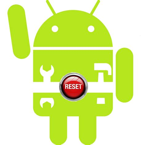 reset android device from pc how to reset an android phone geekscab