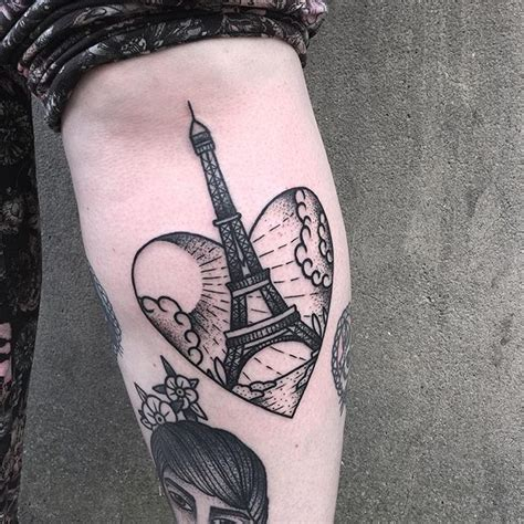 eiffel tower tattoo best 25 eiffel tower ideas on