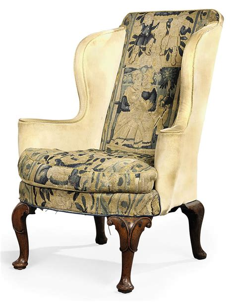 queen anne armchair a queen anne walnut wing armchair early 18th century