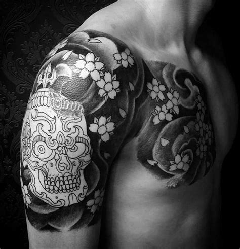 half sleeve nice tibetan skull 50 tibetan skull designs for kapala ink ideas