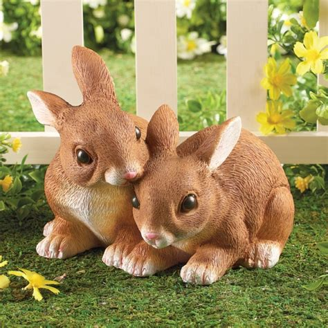 Garden Rabbits Decor Bunny Rabbit Garden Statues Fresh Garden Decor