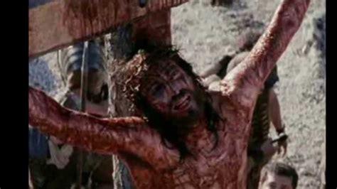 imagenes fuertes de jesus en la cruz la pasi 243 n de jesucristo contiene im 225 genes fuertes youtube