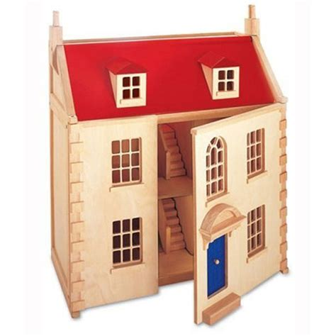 traditional wooden dolls house pintoy dolls houses toy shop wwsm