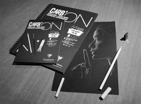 Canson Xl Dessin Noir A4 Black Pad 99 best paper supplies images on paper