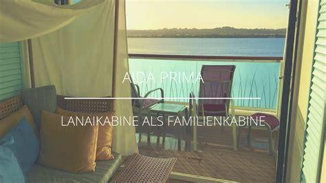 Aidaprima Lanaikabine by Aidaprima Lanaikabine Als Familienkabine