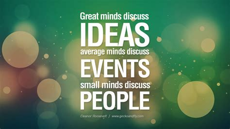good themes quotes great minds discuss ideas pictures photos and images for