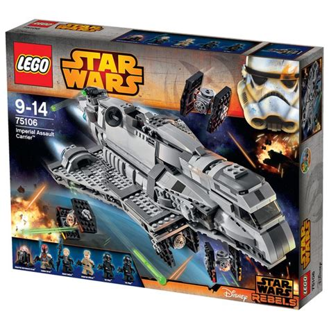 Lego 75106 Starwars Imperial Assault Carrier lego wars imperial assault carrier 75106 my box
