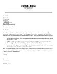 cover letter for software software engineer cover letter exle exle cover letter