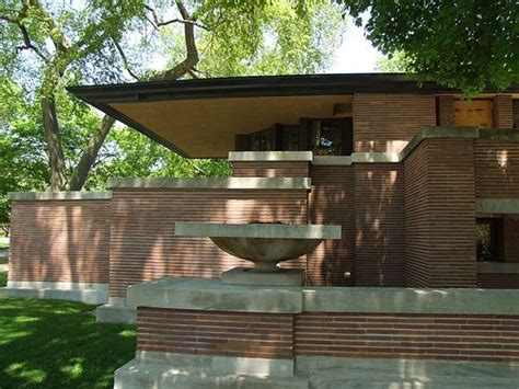 prairie house frank lloyd wright frederick c robie house chicago illinois 1910 prairie