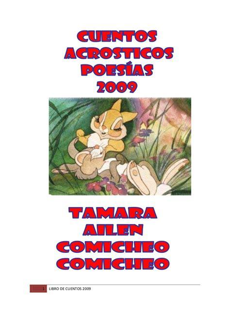 libro cuentos para cambiar libro de cuentos de tamara 2009