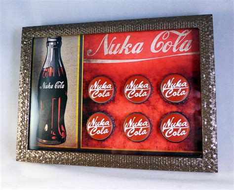 Nuka Cola L by Nuka Cola Bottle Cap Display By Luke314pi On Deviantart