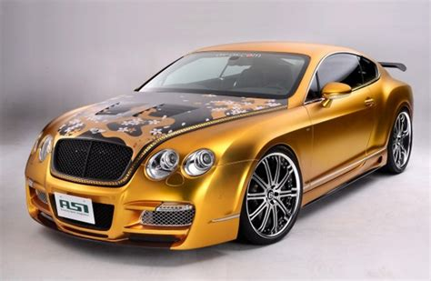bentley car gold gold plated bentley w66 gts car costs 800 000 car values