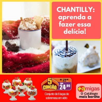 Chantilly Detox by Receitas Mais Amigas