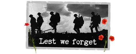 Lest We Forget by Neighbourhoods Come Together To Remember The Great War