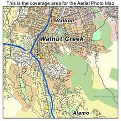 walnut california map aerial photography map of walnut creek ca california
