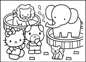 color zoo going to the zoo coloring pages womanmate