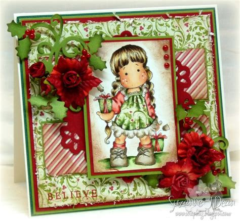 Christmas Card By Suzanne J Dean Of Scrap Bitz Using
